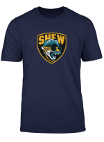 Jaguar Mustache Minshew Shield T Shirt