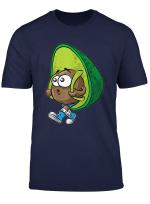 Avocado T Shirt Schulkind Rucksack Tornister Kern