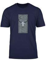 Occult Sternzeichen Stier Taurus Tarot Card Devil Gothic T Shirt