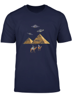 Ufo Alien Pyramide Agypter T Shirt
