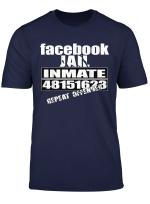 Facebook Jail Inmate 48151623 Repeat Offender T Shirt