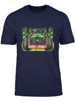 Grave Green Digger Racing T Shirt Monster Truck Shirt