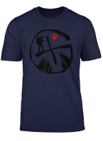 Geocaching T Shirt Geocache Hiking Outdoors Tee