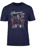 Breakfast Club Distressed Main Cast Logo Collage T Shirt
