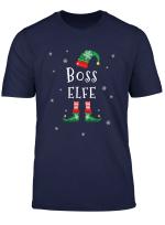 Boss Elf Weihnachtsoutfit Manner Geschenke Fur Weihnachten T Shirt
