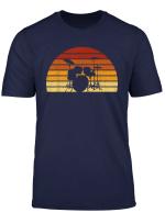 Vintage Sonne Drums Geschenk Fur Drummer Und Schlagzeuger T Shirt