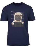 Lustiges Hunde T Shirt Mit Mops Design Zeichnung Hund Motiv