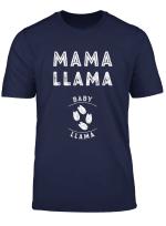 Fun Pregnancy Announcement Mama Llama Gender Reveal Mom Gift T Shirt