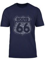 Historical Route 66 T Shirt