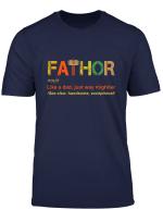 Mens Fa Thor Like Dad Just Way Mightier Hero T Shirt