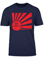 Red Tokyo Japan Sun Rising Japanese Icon Souvenir Gift T Shirt