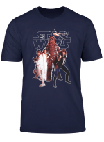 Star Wars Group Shot Fight Stance Poster T Shirt