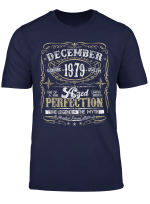 Classic 40Th Birthday Gift Mens Womens Vintage December 1979 T Shirt
