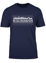 Gluck Auf Recklinghausen Skyline T Shirt