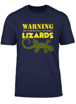 Funny Lizards Pet Snake Reptile T Shirt