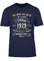 The Man Myth Legend 1929 Vintage 90 Birthday Shirt Gift