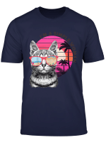 I M A Simple Woman Love Cat And Beach T Shirt