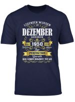 Geschenk Zum 69 Geburtstag Jahrgang 1950 Dezember Gift T Shirt