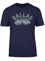 Dallas Texas Vintage Distressed Football Womens Mens Kids T Shirt