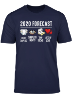 2020 Forecast Funny Expecting Baby Announcement Funny Quotes T Shirt
