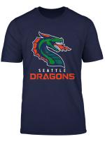Seattle Dragons Football T Shirt