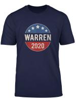 Elizabeth Warren 2020 Vintage Election Button Retro T Shirt
