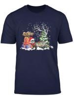Funny Ferret Santa Christmas Ferret Lover Cute Xmas Gift T Shirt