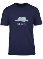 Lustiges Elefant Faulenzer Nicht Heute Not Today Geschenk T Shirt