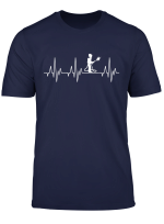 Freiwillige Feuerwehr Feuerwehrmann Herzschlag Fun T Shirt