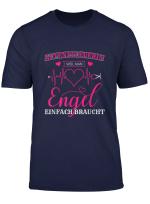 Altenpflegerin Weil Man Engel Einfach Braucht Spruch T Shirt
