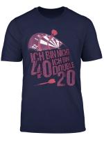 40Er Dart Shirt Lustig 40 Geburtstag Geschenk Dartspieler T Shirt