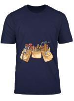 Halloween Kids Carpenter Costume Toolbelt Handyman T Shirt