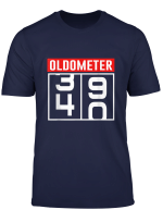 Oldometer 40 Years Old T Shirt 40Th Birthday Gift