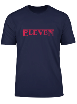 Stranger Style Pop Culture Things Eleven Cosplay T Shirt