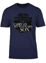 Super Natural T Shirt Carry On My Way Ward Son T Shirt