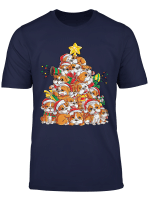 English Bulldog Christmas Tree Dog Xmas Gift Boys Kids Girls T Shirt