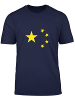 Republic Of China Flag T Shirt Cool Chinese Prc Flags Tee T Shirt
