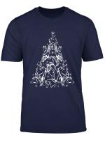Funny Horse Christmas Tree Tee Horse Lovers Xmas Gift T Shirt