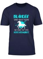 Islandpferde Islandpferd Island Pferd Islander Geschenk T Shirt