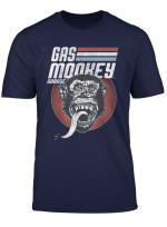 Gas Monkey Garage Striped Circle Logo T Shirt