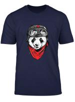 Panda Design T Shirt