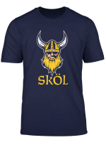 Skol Viking Scandinavia Nordic Warrior Helmet T Shirt