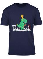 Christmas Tree Rex Funny Dinosaur T Rex Weihnachtsbaum Rex T Shirt