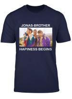 Jonas Tee Brothers Happiness Shirt Begins T Shirt