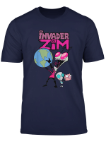 Invader Zim Holding World T Shirt