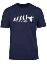 Funny Human Squat Evolution Deadlift Bodybuilder Gym Fitness T Shirt