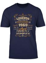 Legends Were Born In November 1969 50Th Birthday T Shirt