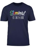 Steminist Womens March Shirt Science Stem Scientist Gift