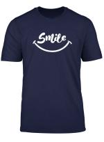Smile Tshirt Damen T Shirt