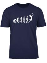 Men Evolution Of High School Team Boys Volleyball Gifts T Shirt